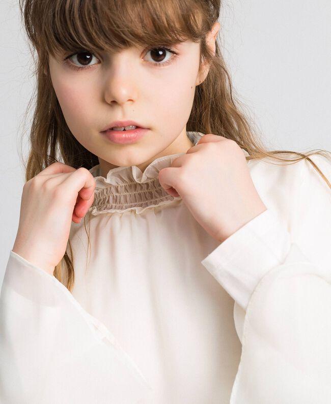 Bluse aus Georgette Chantily Kind 192GJ2351-05