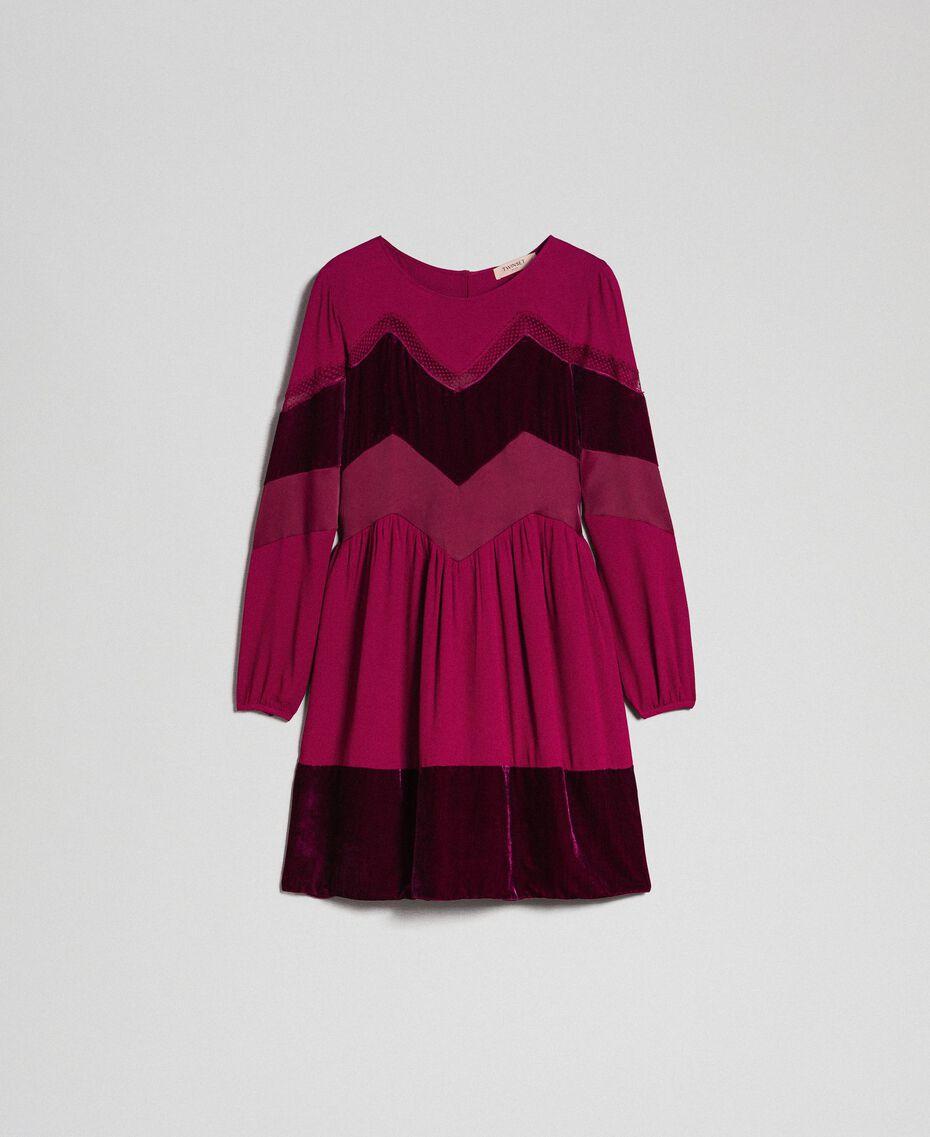 Abito con dettagli in velluto Red Velvet Donna 192TT2281-0S