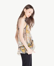 Printed top Paisley Print Woman SS82MA-02