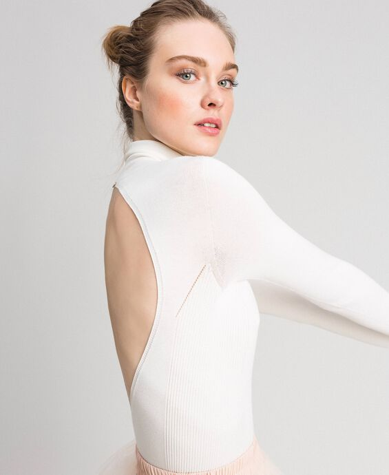 Turtleneck body suit