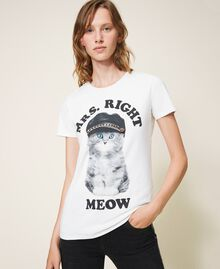 T-shirt imprimé Off White Femme 202MT2306-01