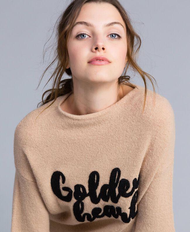 Pull oversize en laine mélangée RoseDunes Femme IA86HH-04