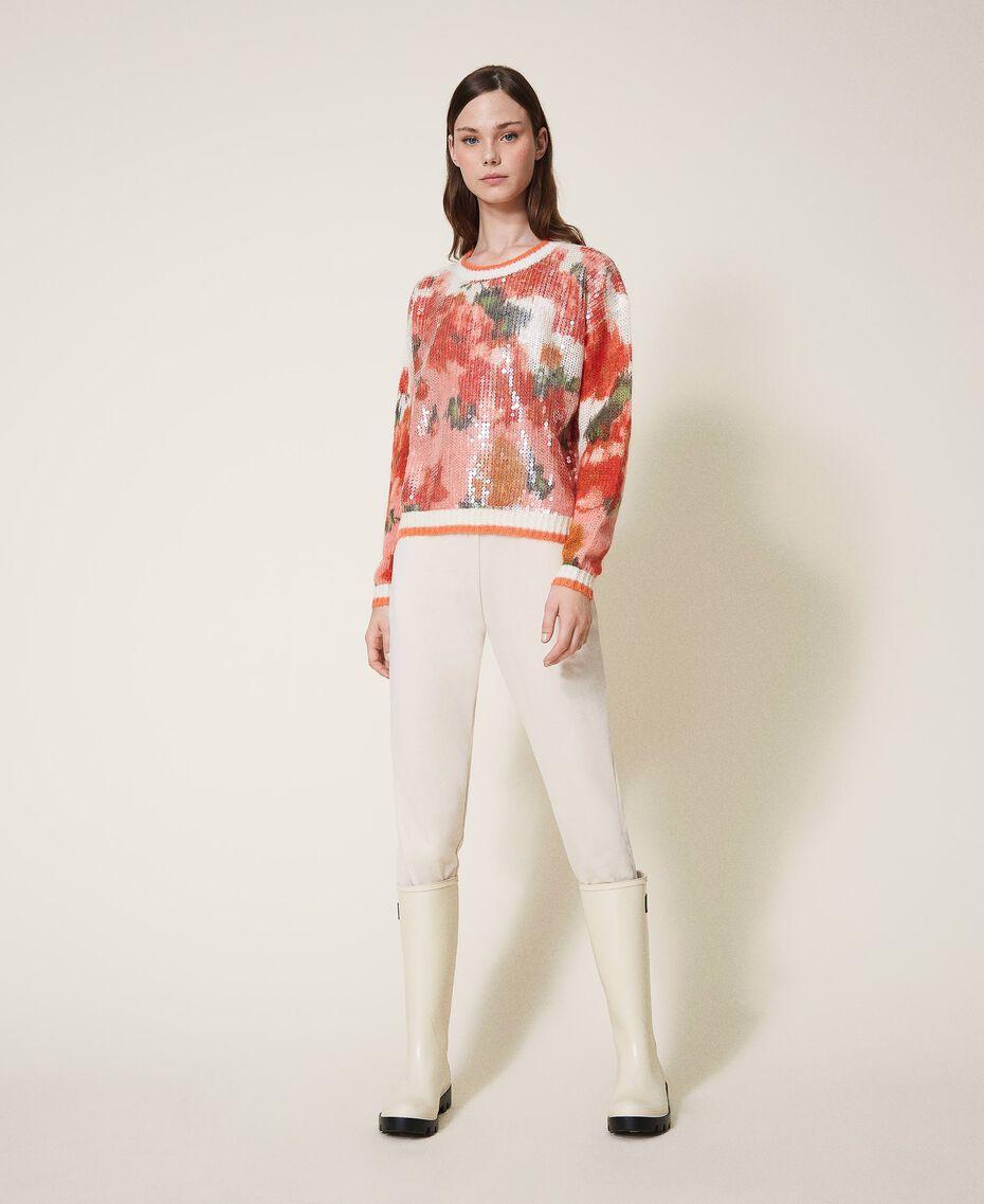 Pantalon de jogging avec poches Rose Cloud Pink Femme 202LI2HDD-01