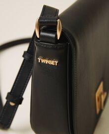 Leather shoulder bag Black Woman 202TD8041-03