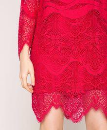 Macramé lace dress Black Cherry Woman 201TP2030-05