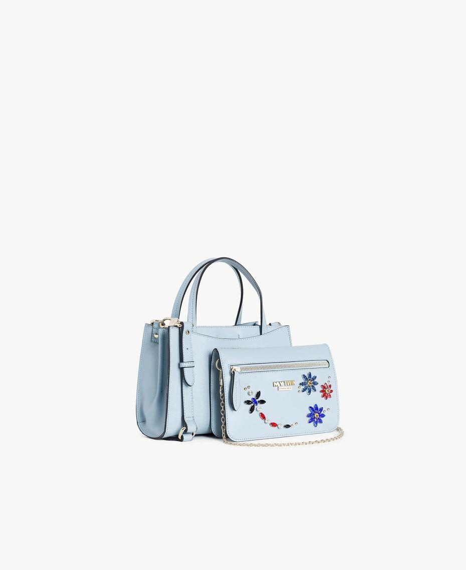 TWINSET Sac et pochette Bleu Layette Femme RS8TB2-02