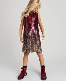 Fadeout sequin dress Fadeout Ruby Red Child 192GJ209A-01