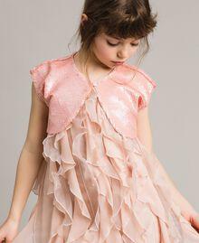 Boléro orné de sequins Rose En fleur Enfant 191GJ2Q71-0S