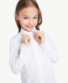 Poplin shirt White GA72TA-04