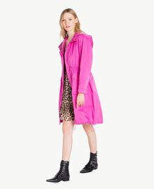 Technical fabric parka Fuxia Woman PS82J4-02