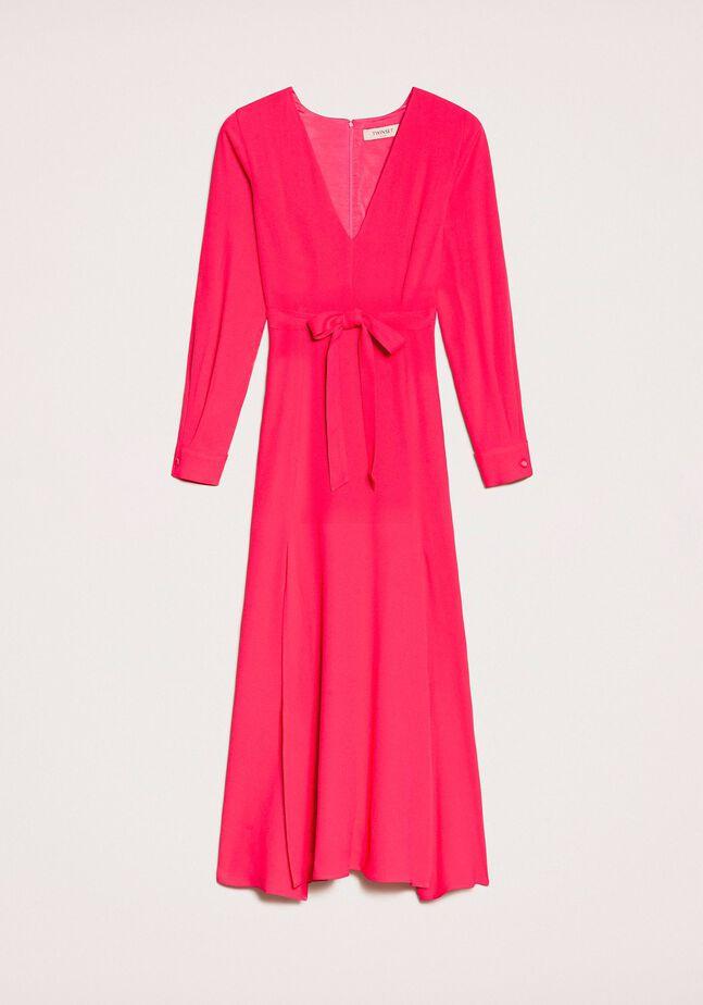 Robe longue avec fentes