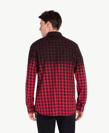 Camicia check Rosso / Nero UA72E1-03