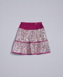 "Sequin skirt ""Sweet Grape"" Purple Child GA82PB-01"