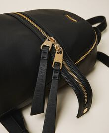 New Cécile backpack with all around zip Turtledove Woman 202TB7184-04
