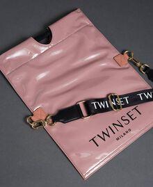 Petit sac cabas repliable en similicuir Rose Poudre Femme 192TA7174-04