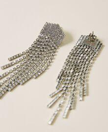Boucles d'oreilles «Zircon» avec franges strassées Cristal Femme 212AA4120-02