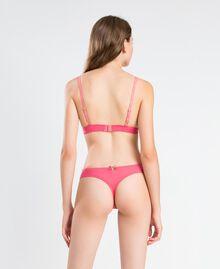 Wattierter Triangel-BH aus Festonspitze Royal Pink Rosa Frau IA8C22-03