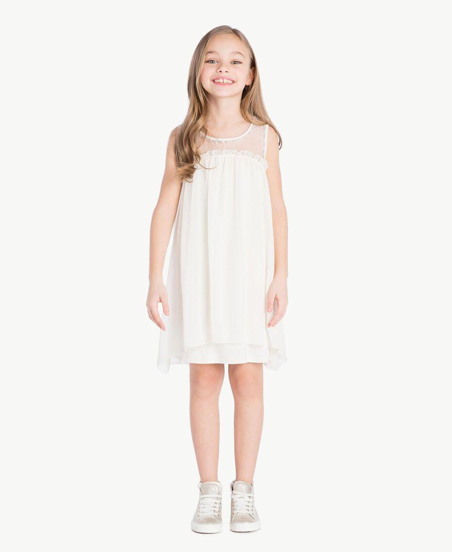 Kleid mit Stickerei Chantily Kind GS82B1-02