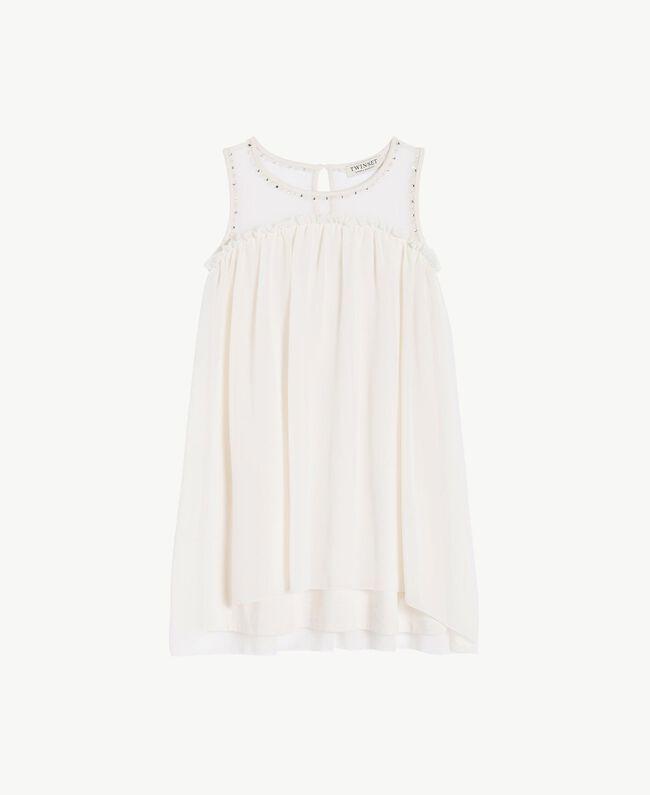 Kleid mit Stickerei Chantily Kind GS82B1-01