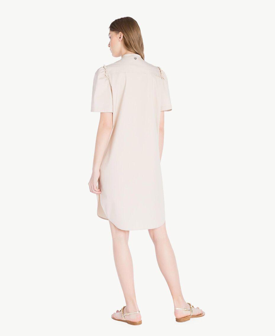 Kleid aus Popeline Dune Frau TS821R-03