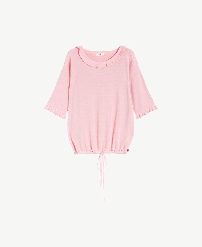 Maxi maglia ruches Pinkie Sugar Donna LS8HAA-01
