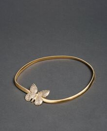 Jewel belt with butterfly buckle Gold Yellow Woman 192TA430G-01