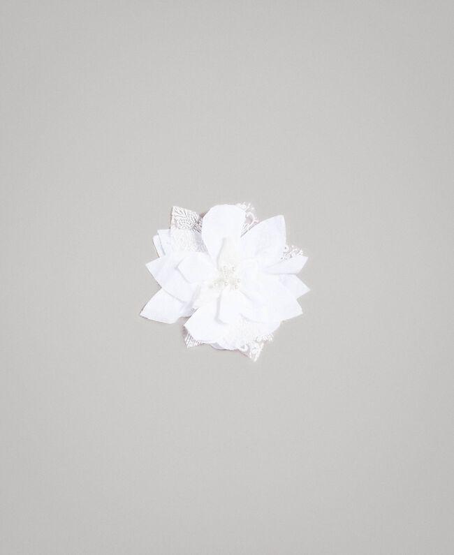 30452fde479e6d Poplin jumpsuit and organza blouse Child, White   TWINSET Milano