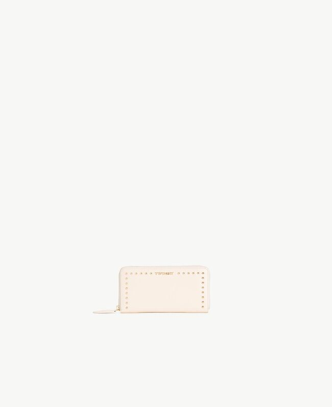 Studded wallet Light Ivory Woman AS8PMC-01
