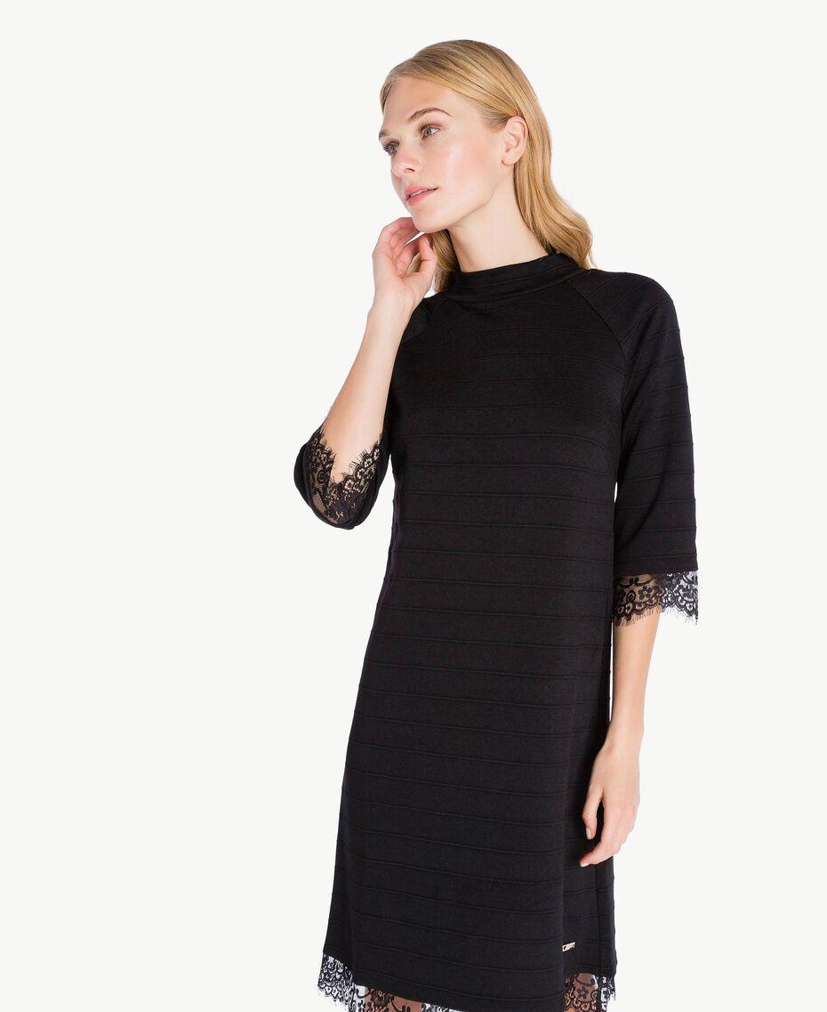 Lace dress Black IA7SAA-02