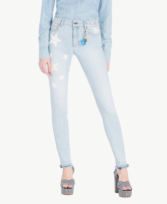 Skinny jeans Denim Blue Woman JS82WM-01
