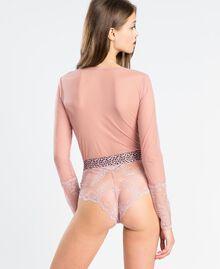 Body en dentelle rebrodée RoseLéger Femme LA8HZZ-03