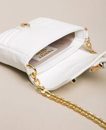 Petit sac à bandoulière Rebel en cuir Blanc Neige Femme 201TO823T-04