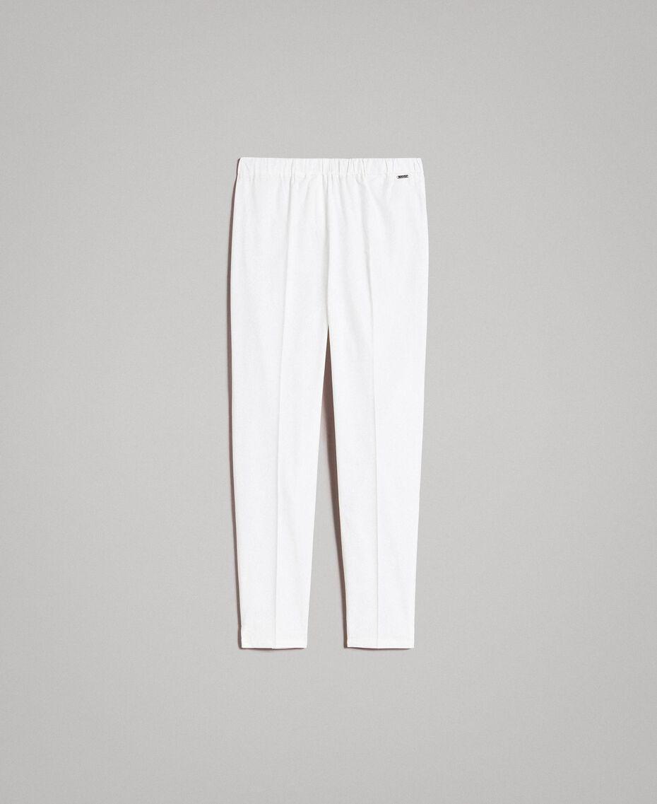 Leggings en popeline Off White Femme 191ST2043-0S