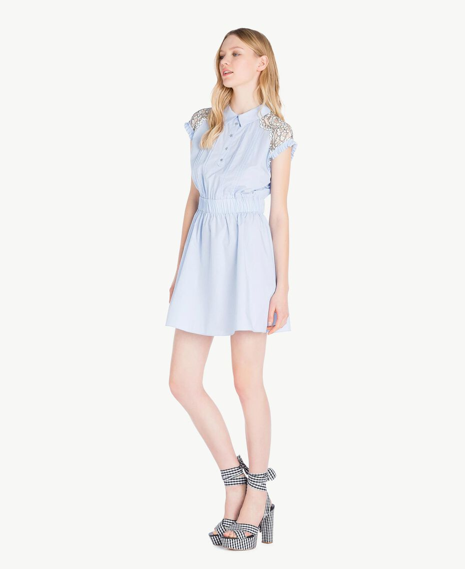 Lace dress Topaze Sky Blue Woman JS82D4-02