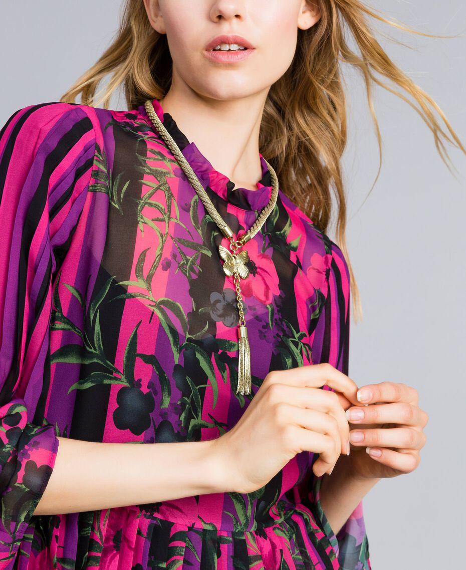 Collier en métal et pendentif Laiton Femme OA8T7M-0S