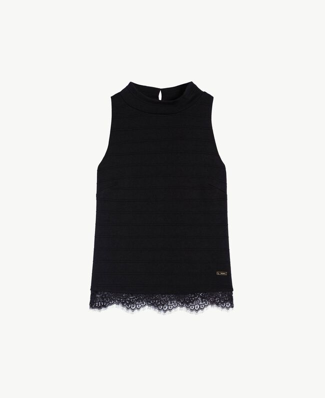 Lace top Black Female IA7SHH-01