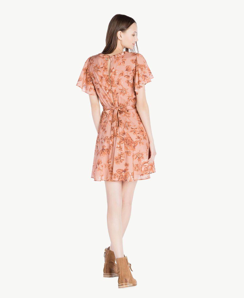 Robe imprimée Imprimé Porcelaines Rose Antique Femme SS82MQ-03