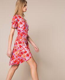Floral print dress Reve / Rose Print Woman 201TQ2021-03