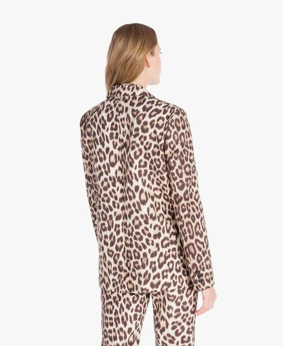 Giacca animalier Stampa Macula Donna PS824G-03