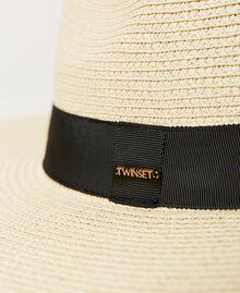 Cappello in paglia a tesa larga Paglia Donna 211TO5091-02