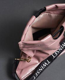 Petit sac cabas repliable en similicuir Rose Poudre Femme 192TA7174-05