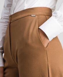 Pantalon cigarette avec poches Beige «Séquoia» Femme 192ST2134-04