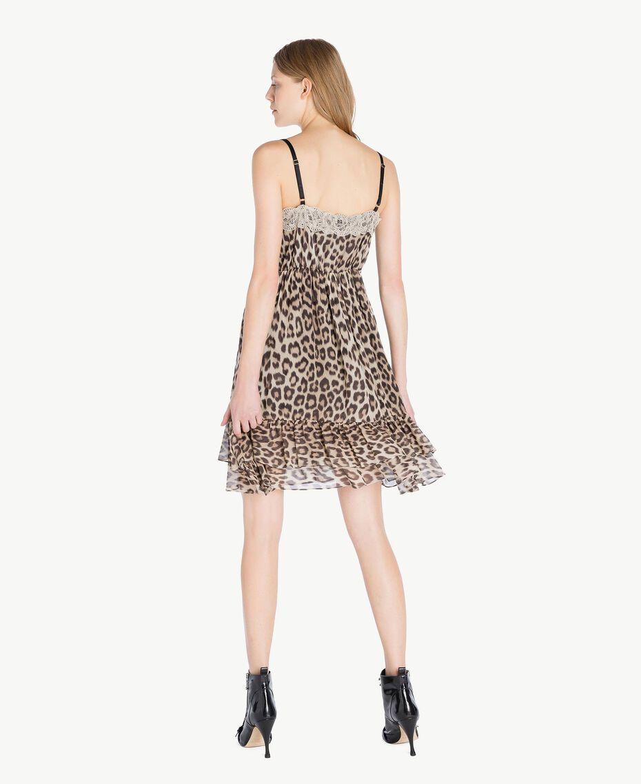 Vestido animal print Estampado Mácula Mujer PS82VA-03