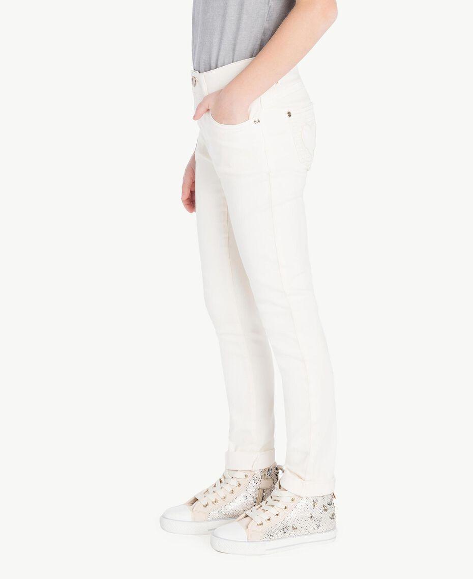 Skinny trousers Pale Cream Child GS82CP-03