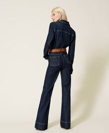 Jeans bell bottom 'Gold' Denim Rinse Donna 212AP2135-03
