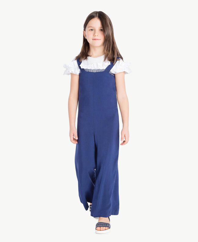 Rhinestone sandals Infinite Light Blue Child HS88DQ-05