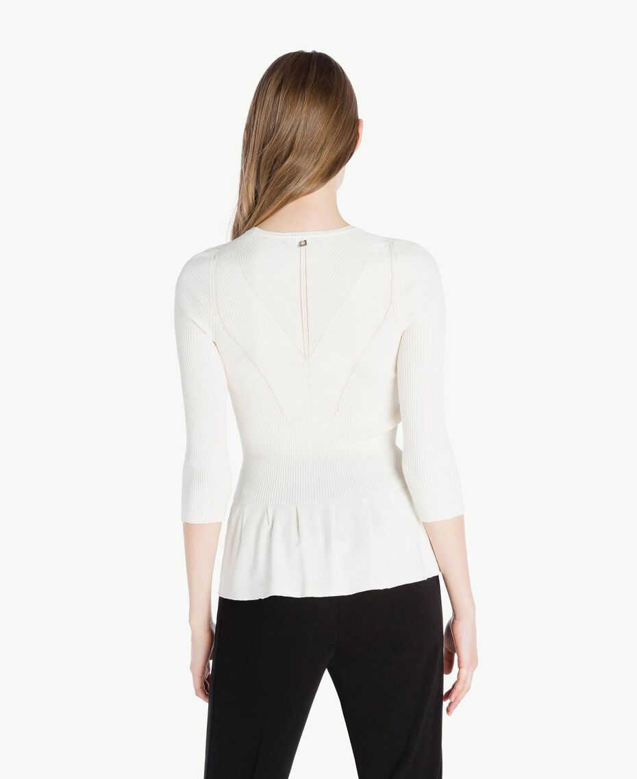 Pull rayures Ivoire Clair Femme PS8395-03