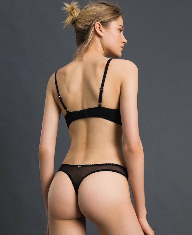 Soutien-gorge push-up en dentelle Noir Femme 192LI6144-03