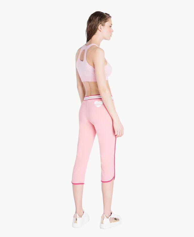 Leggings aus Scuba Pinkie Sugar Frau LS82EE-04