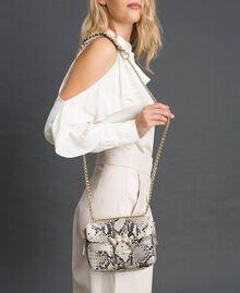 Petit sac à bandoulière Rebel avec imprimé python Imprimé Python Roche Femme 192TO7231-0S